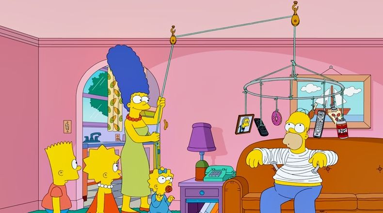 Foto: Twitter (@TheSimpsons)