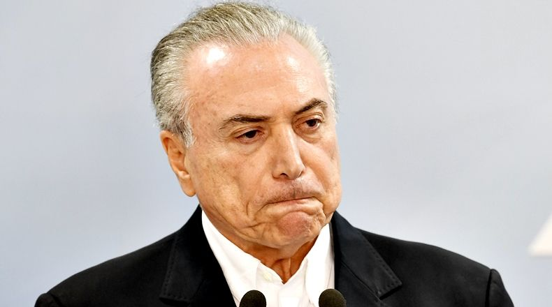 Michel Temer, acorralado, al borde del impeachment