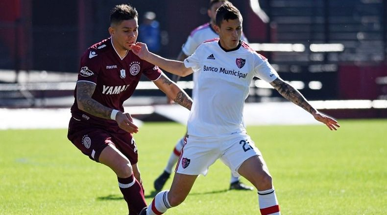 Lanús y Newell´s igualaron 1 a 1