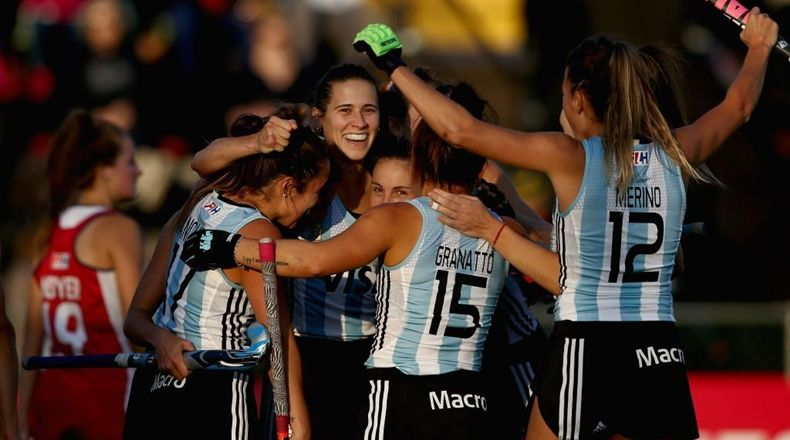 Las Leonas golearon 4-0 a EE.UU, por World League
