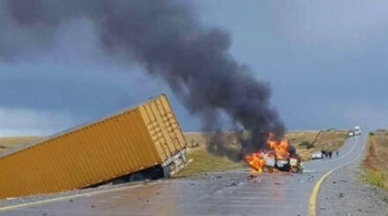 Cinco argentinos fallecieron en accidente de tránsito en Chile