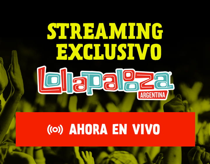 Mirá el Streaming Exclusivo del Lollapalooza 2018 por Filo News