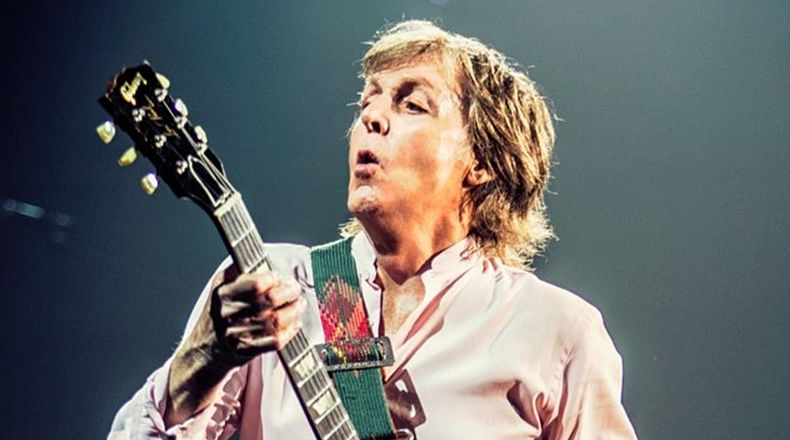 Paul McCartney ofreció un concierto en vivo en YouTube — Videos