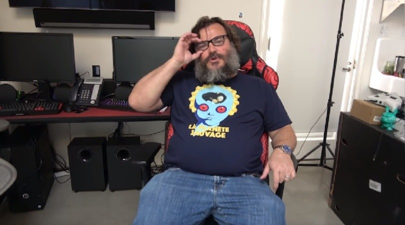 El nuevo canal de YouTube de Jack Black(YouTube)