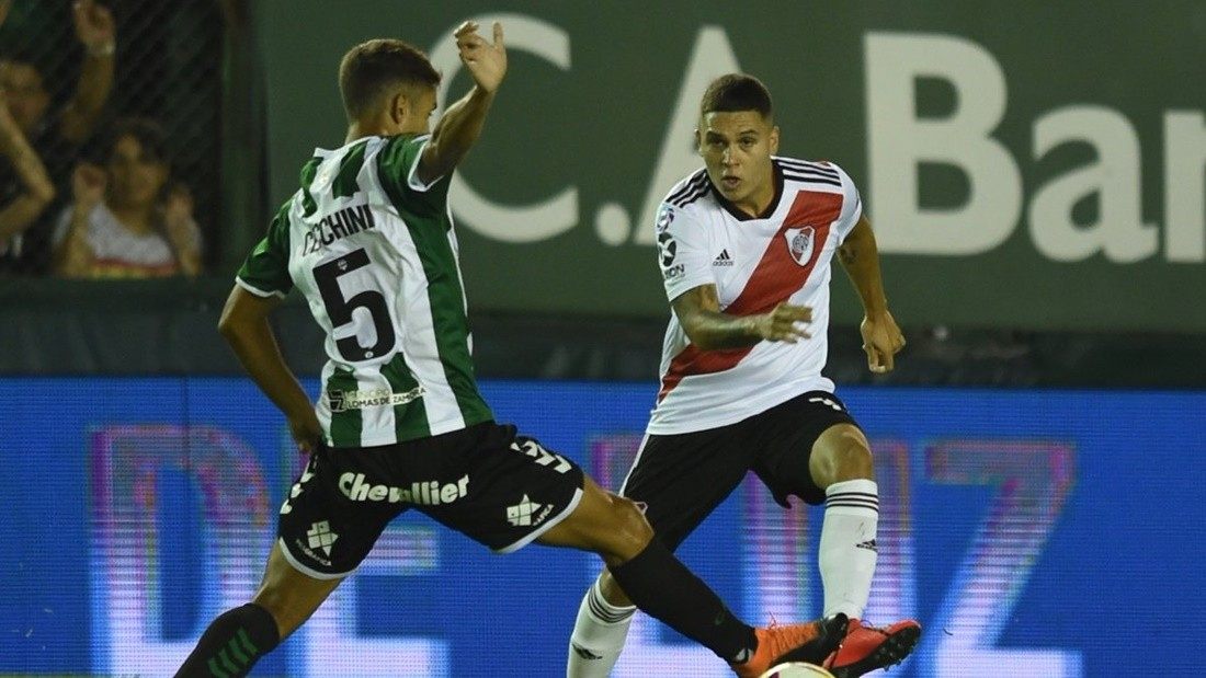 River y Banfield no se sacaron diferencias |