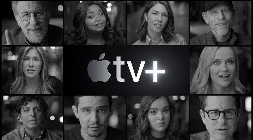 Los grandes protagonistas de la presentación de Apple TV+(Apple/YouTube)