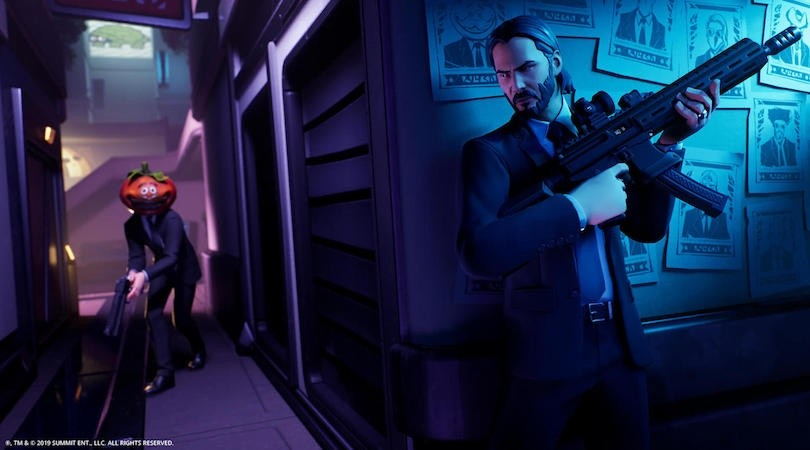 John Wick vuelve a Fortnite(Epic Games)