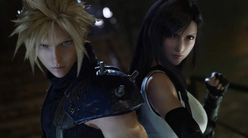 Final Fantasy VII Remake sale en 2020(Square Enix)