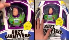 Video: ¿un juguete de Buzz Lightyear movió la cabeza en un negocio?