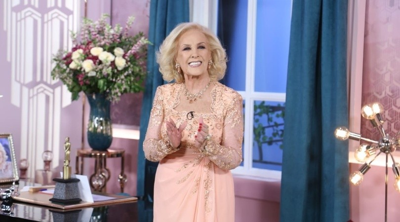 Mirtha Legrand(Foto: Twitter @mirthalegrand)