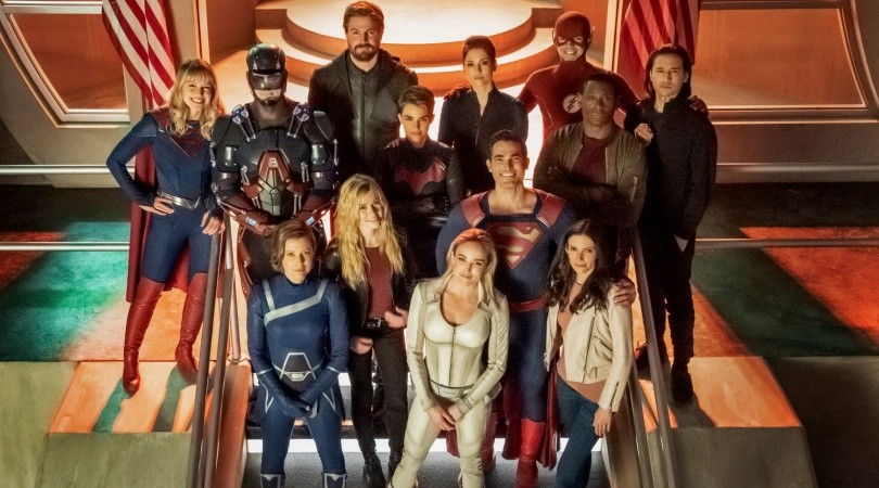 The most ambitious crossover event in history…(The CW)