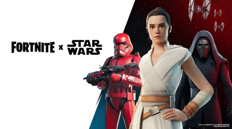 Rey, Kylo Ren y el Sith Trooper vuelven a Fortnite(Epic Games)