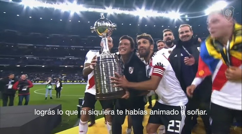 River cumple 119 años y lo festeja con un video con la voz de Marcelo Gallardo