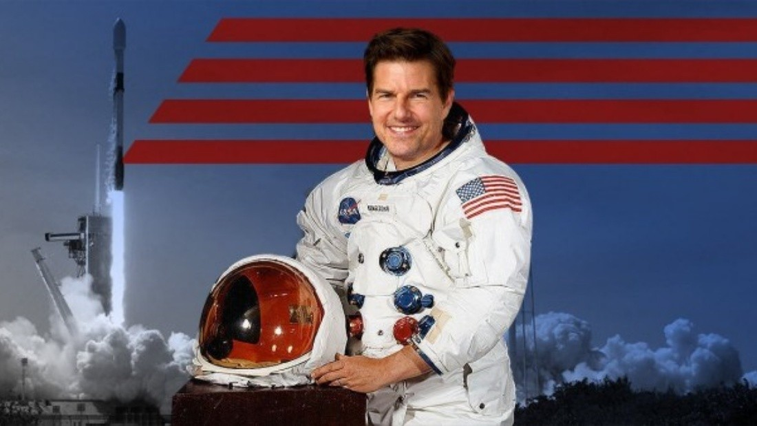 Con el apoyo de la NASA y junto a SpaceX el film de Tom Cruise sigue en pie