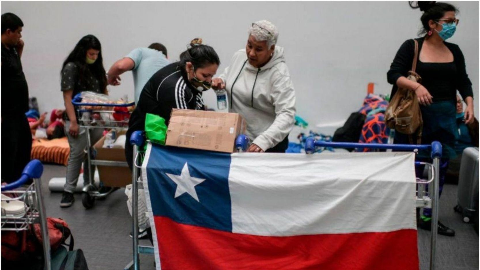 Chile registra 75 muertos en 24 horas.