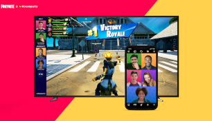 Fortnite integra chat en video a través de la aplicación Houseparty