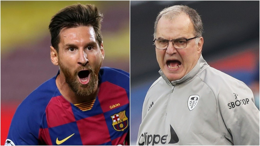 Lionel Messi y Marcelo Bielsa, nominados a los premios The Best 2020