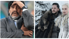 Game of Thrones y el enojo de Maradona con sus hermanas
