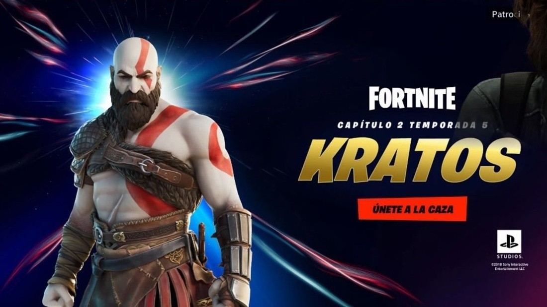 Kratos llega a Fortnite con un estilo exclusivo para PlayStation