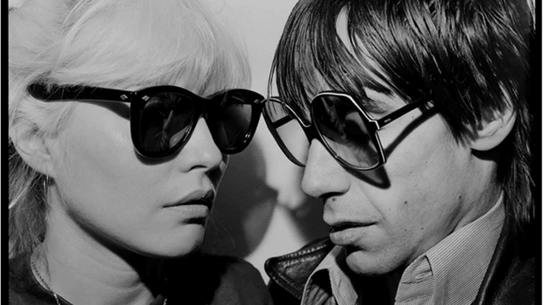 Debbie Harry & Iggy Pop. NYC, 1977 por Chris Stein.